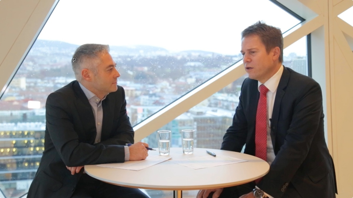 Video & podcast: Intervju med Joakim Marstrander, Head of Legal i Deloitte
